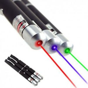 Pointeur laser rouge violet vert