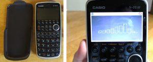 Calculatrice graphique écran couleur