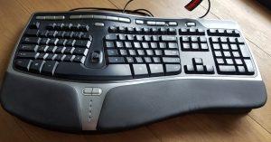 Clavier ergonomique microsoft