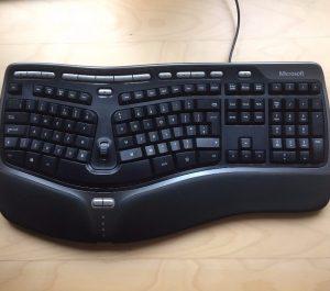 Clavier microsoft ergonomique