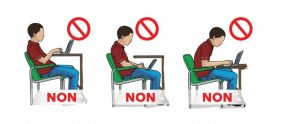 Posture devant son bureau : ergonomie au travail