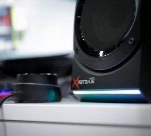 Enceinte gaming Sound Blaster X