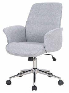 Chaise du bureau gris à roulette